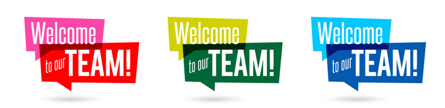 Welcome to our team !