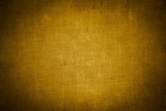 Fine art texture. yellow canvas backdrop