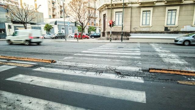 Italian Road Crossing