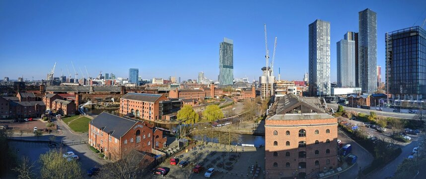 The Changing Skyline Of Manchester