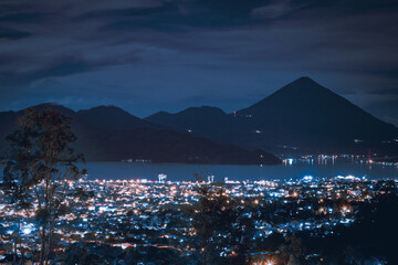 Ternate At Night. City That Never Sleep. Wall mural