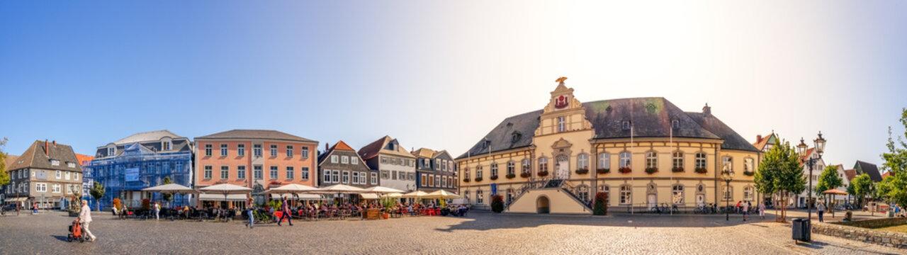 Rathausplatz, Lippstadt, Nordrhein-Westfalen, Deutschland