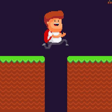 Pixel art jump