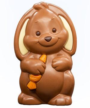 Schokolade Osterhase Freigestellt