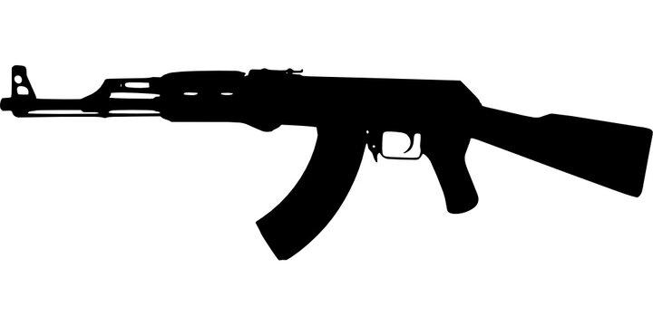 Gun ak-47