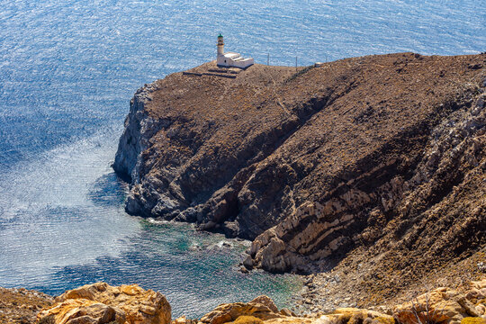 Lighthouse in greece