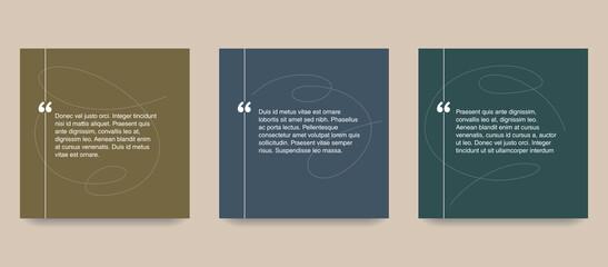 Fototapeta Quotes template in decorative frame block obraz