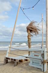 Relaks plaża morze Bałtyckie