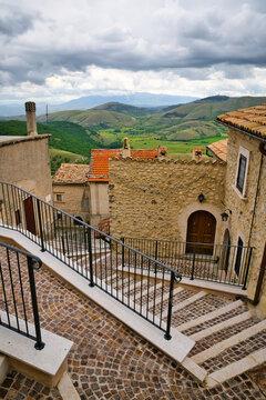 Castel del Monte, Aquila, Abruzzo, Italy