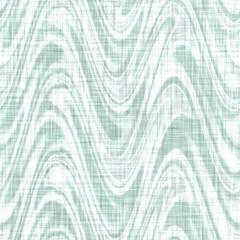 Fond de texture de lin à motif chevron marbré sarcelle de la mer Égée. Effet de tissu de décoration d& 39 intérieur de style de vie côtière d& 39 été. Matériau en zigzag rayé grunge vert de mer. Modèle sans couture textile décoratif