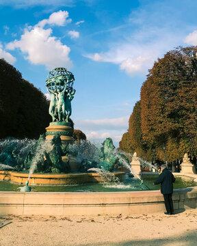 Fuente Jardín de Luxemburgo