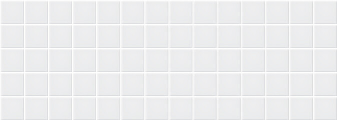 Obraz White ceramic tiles texture abstract background vector - fototapety do salonu
