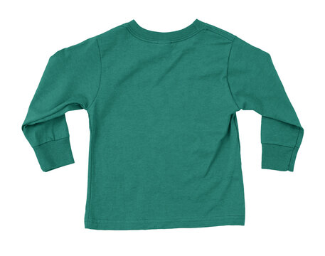This Back View Amazing Toddler Longsleeve T Shirt Mokup In Bear Grass Color, was made in such a way, that you can easily add your artwork to your products.