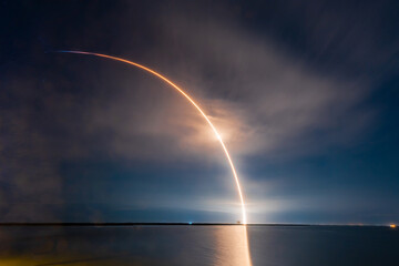 SpaceX Falcon 9 Starlink L22 on March 24, 2021 at 4:28AM