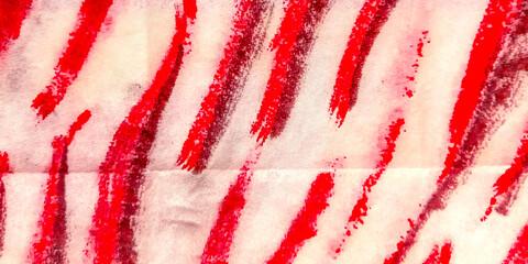 Dirti Stripe. Line Illustration Animals. Red Water Colour Strip. Passion Zebra Pattern. Pink Safari Style. White Zebra Pattern Background. Tiger Camouflage.