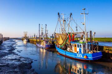 Fischereihafen, Wremen, Nordsee, Deutschland