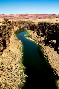 Colorado River Under Lees Ferry