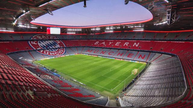 Allianz Arena. October 2020 - Munich, Germany