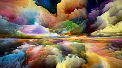 Source of Heaven and Earth Wall mural