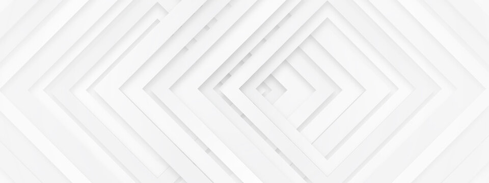 Grey white abstract stripe background geometry shine and layer element vector for presentation design. Suit for business, corporate, institution, party, festive, seminar, and talks.