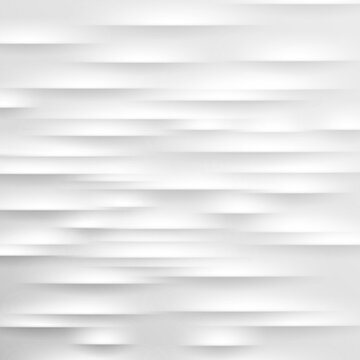 Abstract light grey background. Vector illustration. White embossed pattern