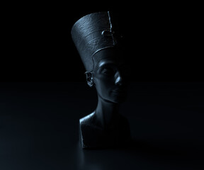 Old Egyptian Amun, Pharaonic statue