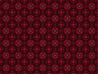 Batik is a pictorial design that is made specifically by writing on cloth, which has a distinctiveness. art motif design. Pattern batik motifs of modern colors. Vector art - fototapety na wymiar