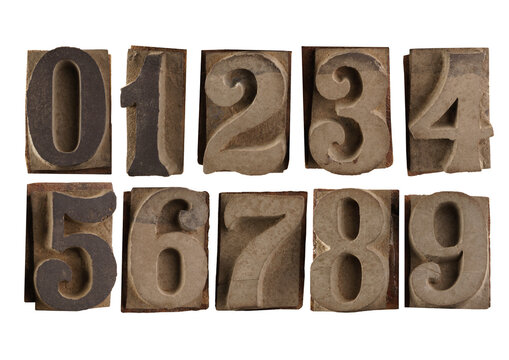 old rubber numbers