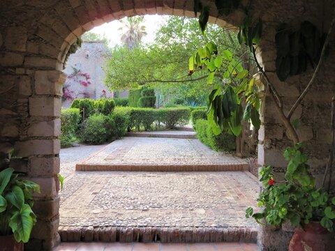 Ancient Mexican manor-hacienda