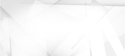 Obraz Halftone Dynamic Gray Vector Background. Minimal Faded Banner. - fototapety do salonu