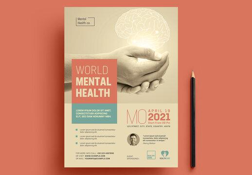 Mental Health Flyer Layout