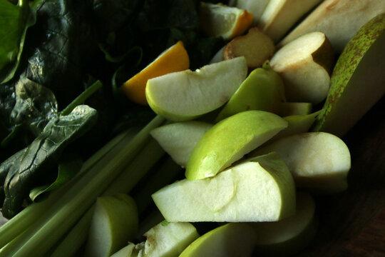 owoce i warzywa na sok