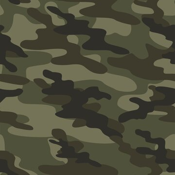 green camouflage military pattern liquid elements for printing clothes and fabrics