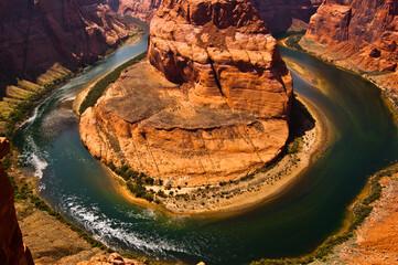 Horshoe Bend Arizona USA - fototapety na wymiar