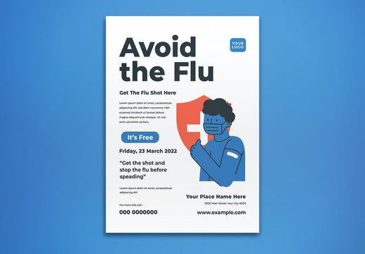 Avoid the Flu Flyer