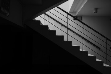 stairway to the skybeautiful abstact black and white background monochrome picture