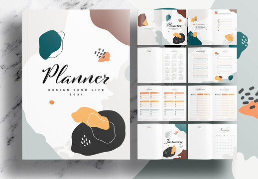 Annual Planner Notebook Layout