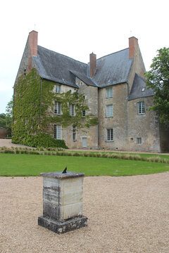 mansion (balzac museum) in saché (france)