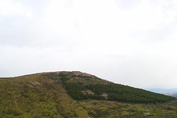 krajobraz góry niebo chmury widoki natura rośliny
