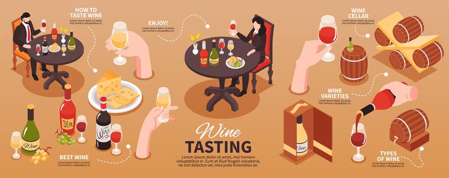 Wine Tasting Infographics