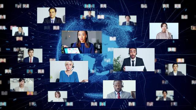 ビデオ会議 テレビ電話 テレミーティング web会議