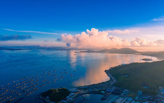 Zhapo National Center fishing port, hailing island, Yangjiang City, Guangdong Province, China