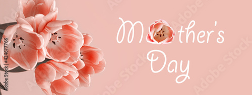 mother's day, background with flowers