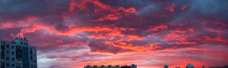 Sunset in Surgut