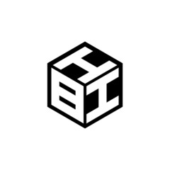 BII letter logo design with white background in illustrator, vector logo modern alphabet font overlap style. calligraphy designs for logo, Poster, Invitation, etc.