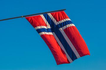 Norsk flagg - norwegian flag