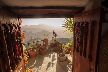 Fototapeta Monta–a De Las Tierras on Gran Canaria obraz