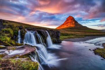 Iceland Landscape Summer Panorama