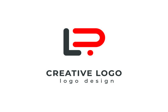 Abstract Initial Letter L and R Logo. Usable for Business, Technology and Branding Logos. Flat Vector Logo Design Template Element