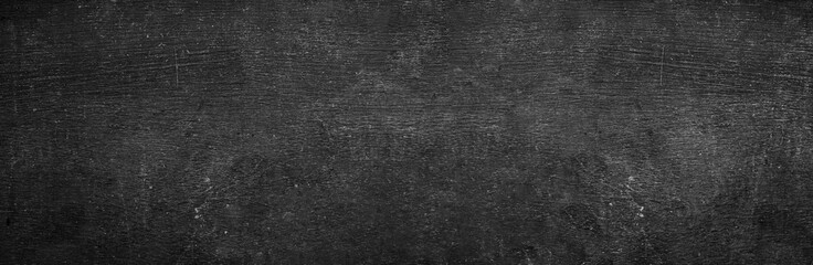 Art bg black chalkboard table background texture in college concept back to school kid wallpaper pattern for white chalk text bacground. Old back wall education blackboard. food backdrop.